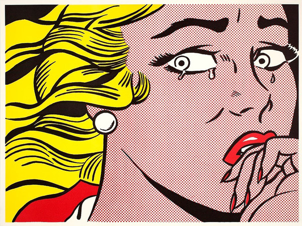 Roy Lichtenstein, Crying Girl, 1963