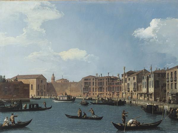 Antonio Canal detto Canaletto, Il Canal Grande da Santa Chiara verso Santa Croce, Olio su tela,79 x 48.5 cm, Parigi, Musée de Cognacq-Jay