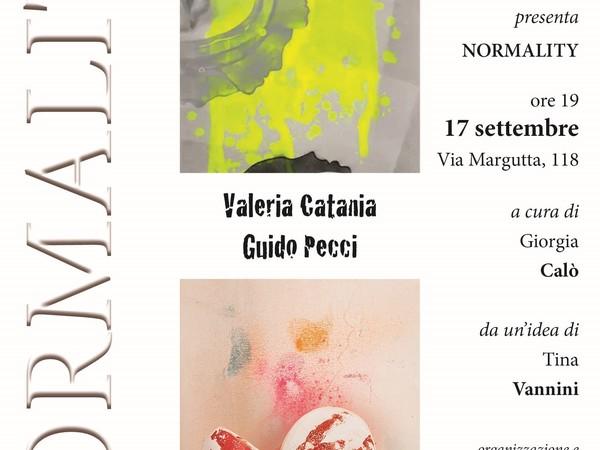 Valeria Catania e Guido Pecci. Normality