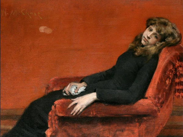 William Merritt Chase, <em>The Young Orphan</em>, 1884, National Academy of Design, New York