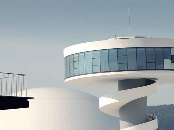 Centro culturale internazionale Oscar Niemeyer, Avilés, Asturias, Spagna