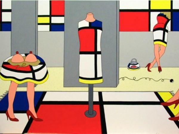 Giampaolo Atzeni, Mondrian è di moda, 2008