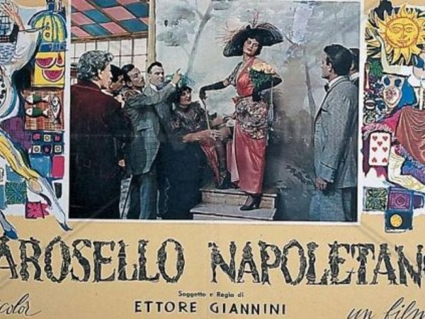 Carosello napoletano (<span>1954) diEttore Giannini. L</span>ocandina d'epoca