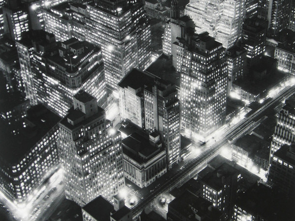 Berenice Abbott, <em>Nightview</em>, New York, 1932 | Berenice Abbott / Getty Images<br />