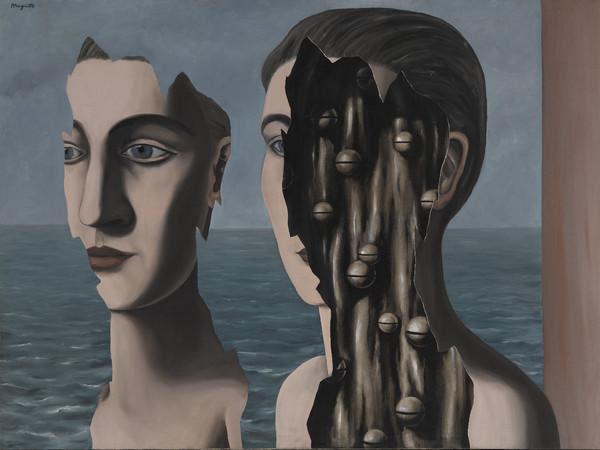 Renè Magritte, Le double secret, 1927. Centre National de Art e de Culture Georges Pompidou