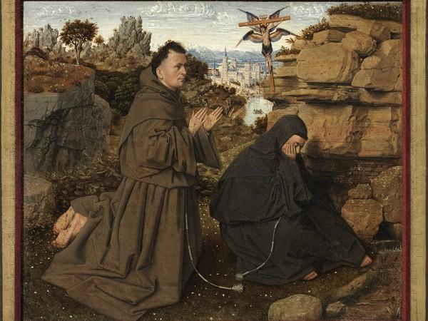 Jan van Eyck, Stigmate di san Francesco
