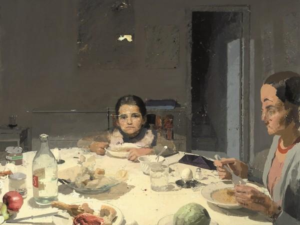 Antonio López García. Caravaggio. Cena per due, pittura della realtà