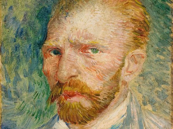 Vincent Van Gogh, Autoritratto, 1887. Olio su cartone, cm 32,8 x 24. © Kröller-Müller Museum<br />