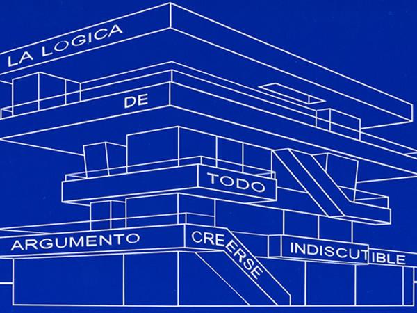 Carlos Garaicoa, De la serie Edificios parlantes (La lógica de todo argumento creerse indiscutible)
