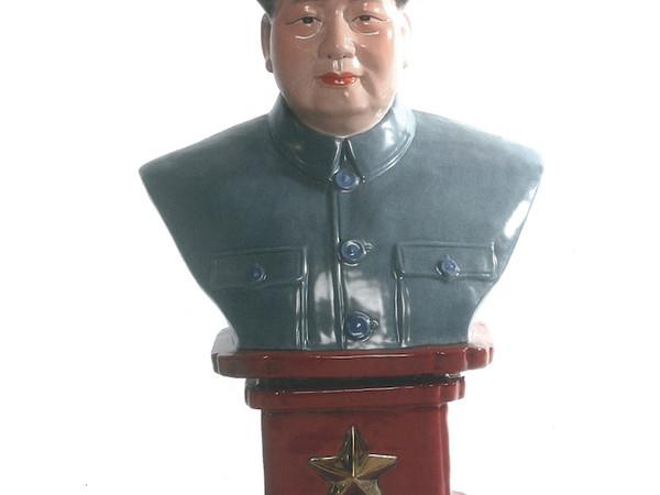 Mao, anni '60, ceramica, cm. 53x32x24