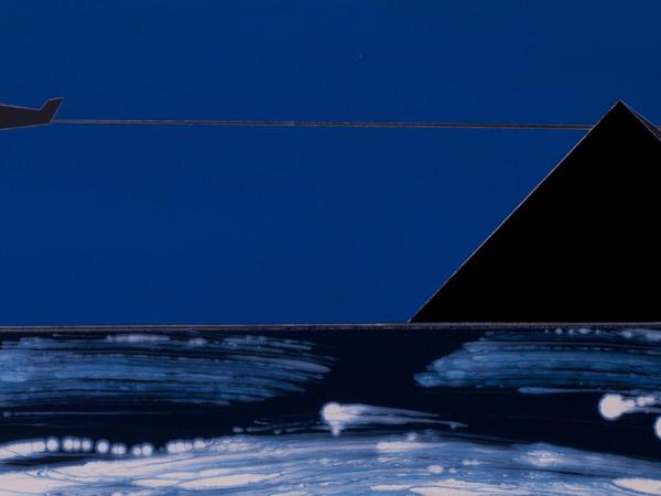 Franco Angeli, Orientale, tecnica mista su tela, 1984-86