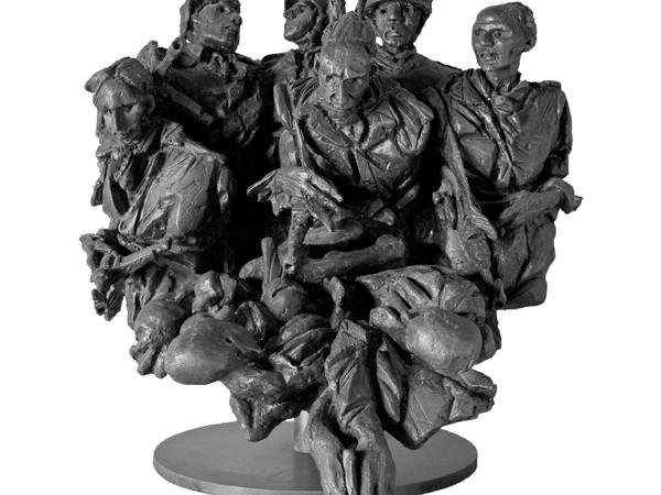 Floriano Bodini, La  guerra, 1963
