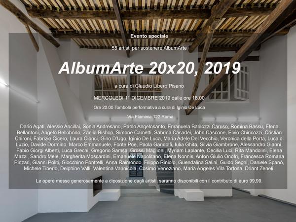AlbumArte 20 x 20, 2019, AlbumArte, Roma