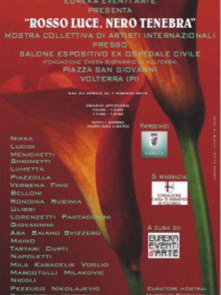 Rosso Luce, Nero Tenebra, Fondazione Cassa Risparmio, Volterra (PI)