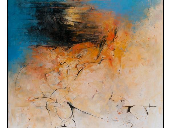 Gianni Ruspaggiari, Senza titolo, 2009, olio su tela, cm 120x100