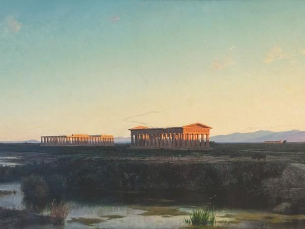 Achille Vertunni. I Templi di Paestum