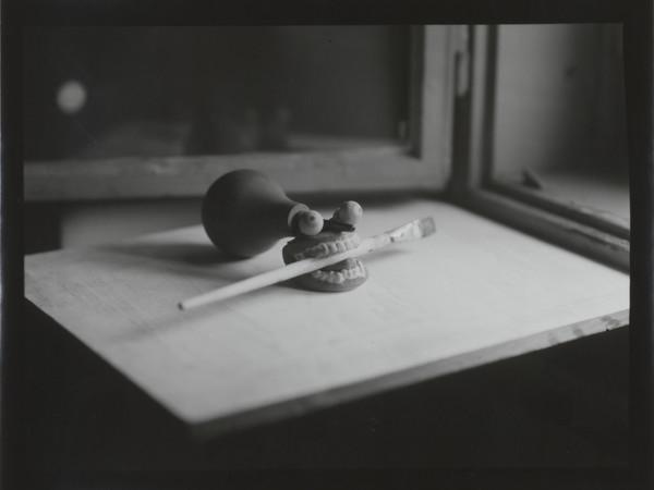 Goran Trbuljak, Self portrait, 1996, Fotografia in bianco e nero