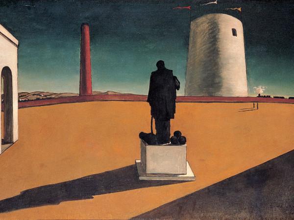 Giorgio de Chirico, <em>L'enigma di una giornata</em>, 1914<br />