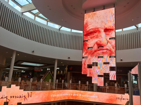 Leonardo 4.0. Dall'osservazione al pensiero scientifico, iare Shopping Centre di Villesse