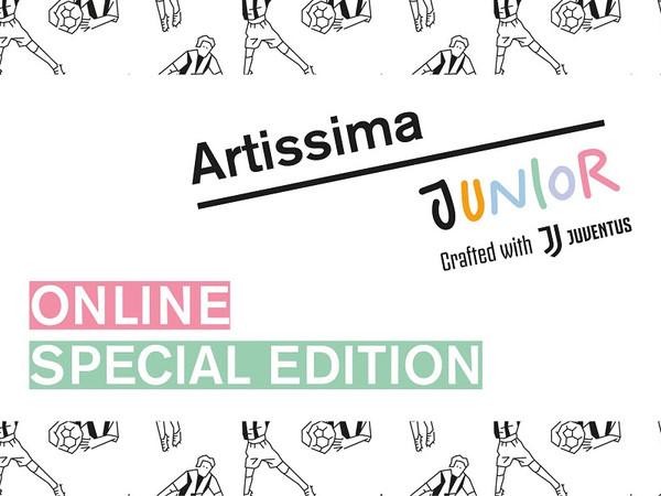 Artissima Junior – Online Special Edition. Crafted by Juventus & Artissima / Graphic Design: FIONDA