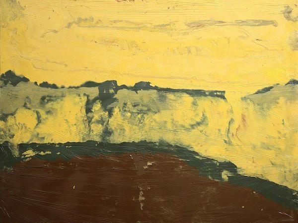 <span>Jose Yaque, 2014, acrylic paint, enamel on canvas and nylon</span>