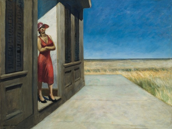 Edward Hopper, South Carolina Morning (1955)