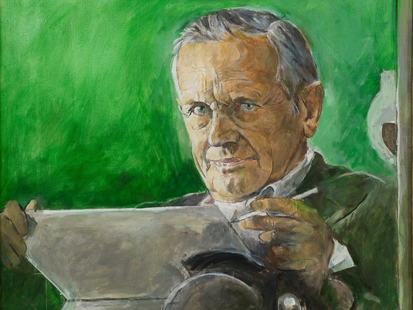 Graham Sutherland, Autoritratto, 1978, olio su tela, cm 67x59