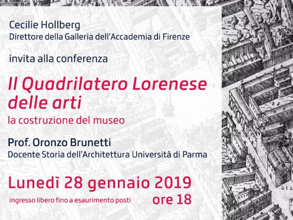 Il Quadrilatero lorenese delle arti, Galleria dell'Accademia di Firenze