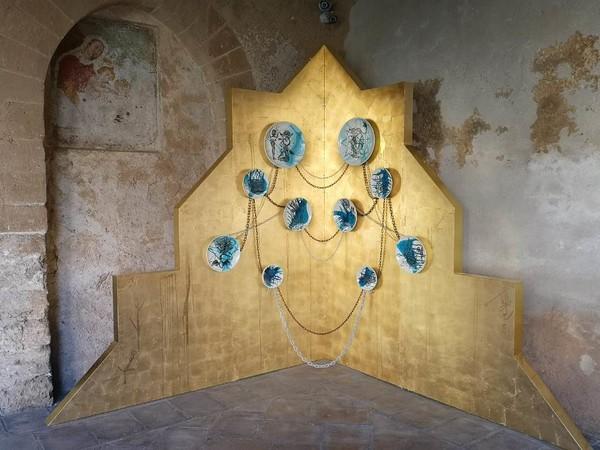 Navid Azimi Sajadi, installazione Chiostro Benedettino di Monreale, 2020