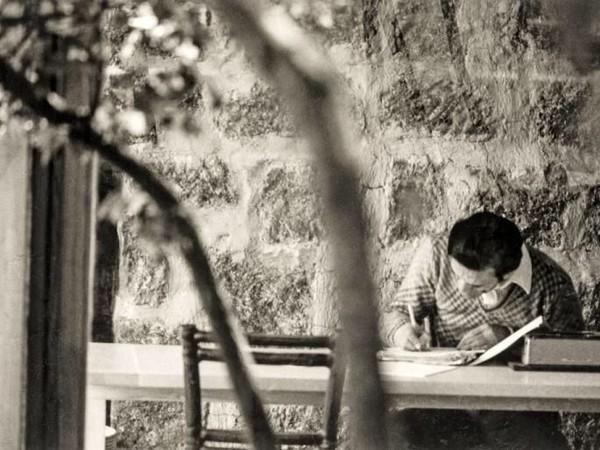 Dino Pedriali, Pier Paolo Pasolini, Roma 1950