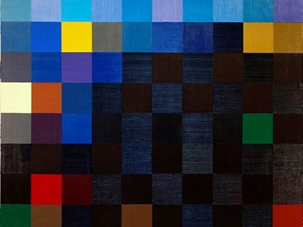 Paolo Parisi, The Whole World in a Detail,  2019, olio su tela, 200 x 200 cm.