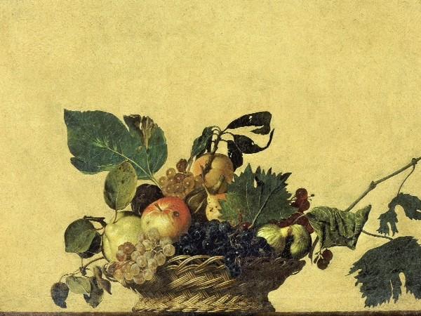 Michelangelo Merisi da Caravaggio, Canestra di frutta, Pinacoteca Ambrosiana