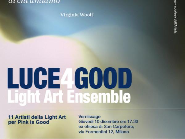 Luce4Good - Light Art Ensemble 2015, Milano