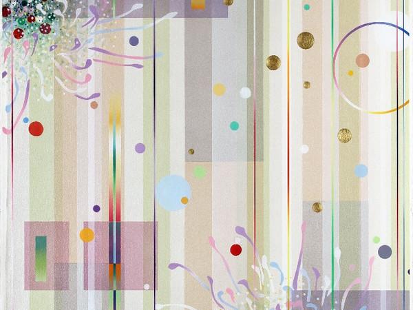 Dany Vescovi, Senza Titolo, cm.100x70. Tecnica mista su carta, 2016