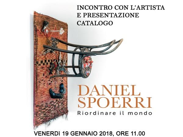 Daniel Spoerri. Riordinare il mondo - Presentazione del catalogo, Accademia di Belle Arti di Brera, Milano