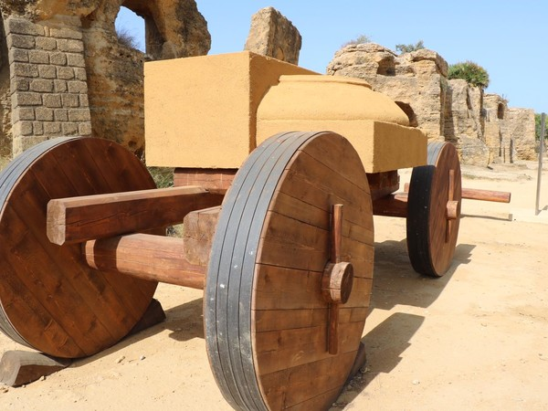 Costruire per gli dei. Il cantiere nel mondo classico, Parco della Valle dei Templi, Agrigento
