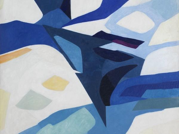 Silvano Bozzolini, Situation positive, 1960, olio su tela, 146x114 cm. Collezione privata