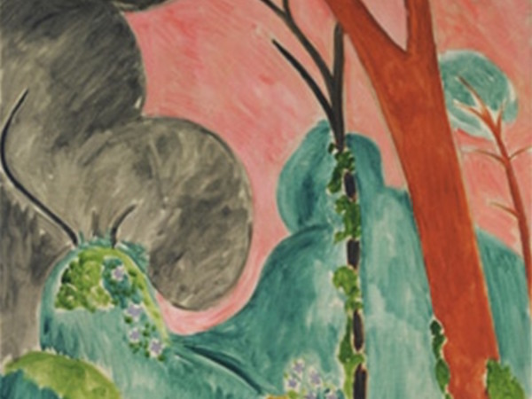 Henri Matisse, Pervinche (o Giardino marocchino), 1912. The Metropolitan Museum of Art, New York