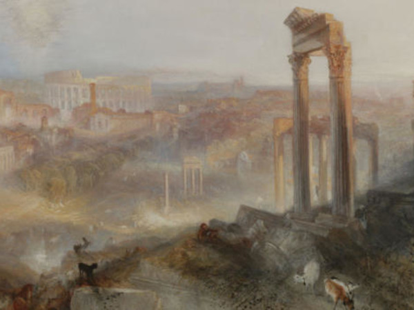 &quot;Campidoglio. Mito, memoria, archeologia&quot;, J. M. W. Turner, <em>Modern Rome. Campo vaccino</em>, 1839 | Courtesy J. Paul Getty Museum, Los Angeles