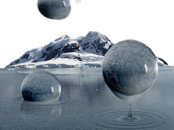 Aqua Aura, Emotional State of Gray. Stampa digitale su carta cotone Hahnemule, su alluminio, cm. 101x123