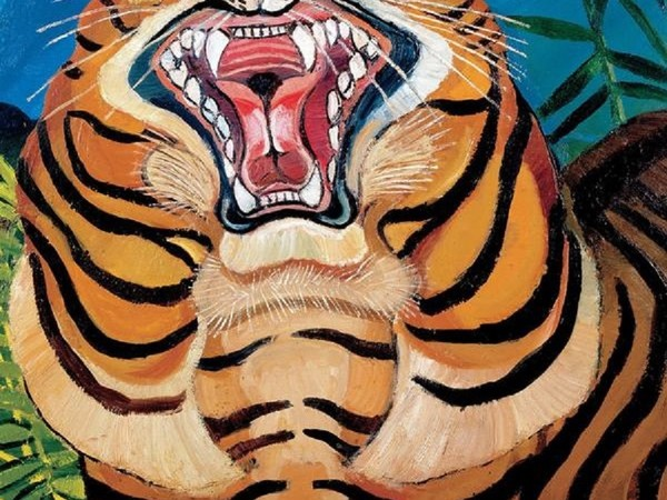 Antonio Ligabue, Testa di tigre