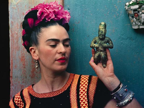 Nickolas Muray, Frida with Idol, 1939 | © Nickolas Muray Photo Archive