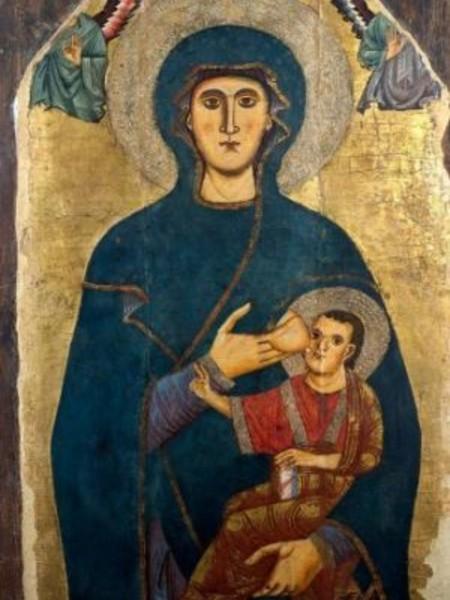 Tavole miracolose le icone medioevali di roma e del lazio - Dal molin tavole per icone ...