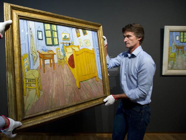 Van gogh museum amsterdam la camera di vincent ad arles for Stanze ad amsterdam