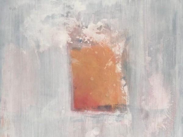Nadia Nespoli, Predisponi lo sguardo VI, carta a tecnica mista montata su tela, 94×64 cm., 2016-17