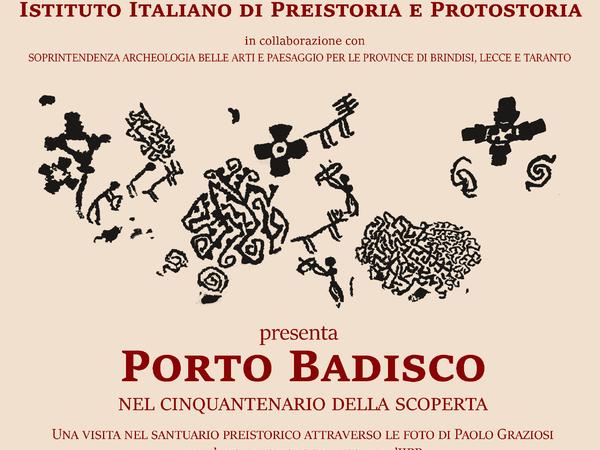 Porto Badisco nel cinquantenario della scoperta. Una visita nel santuario preistorico attraverso le foto di Paolo Graziosi nell'Archivio fotografico IIPP