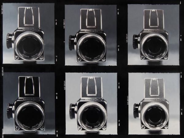 Fabio Torre, Contact Sheet 1 (Hasselblad), 2011, olio su tela,  cm 120x160