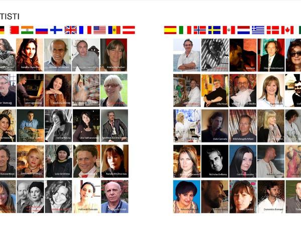 pagina di presentazione degli artisti