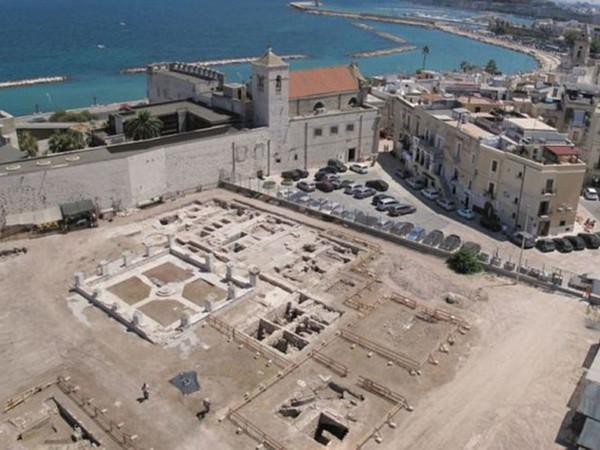 Complesso di Santa Scolastica, Area archeologica di San Pietro, Bari