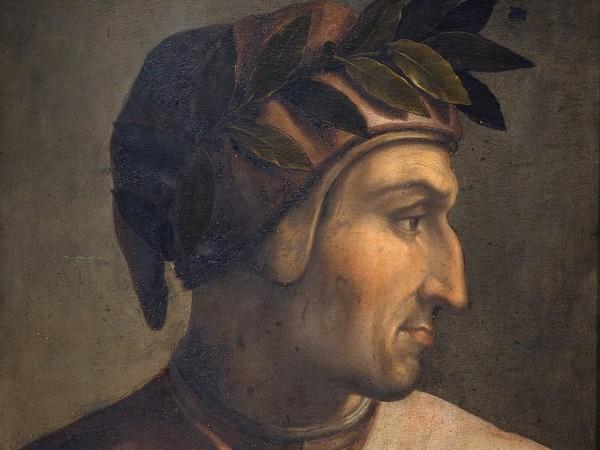 <span>Cristofano dell'Altissimo, Dante Alighieri, ante 1568, tavola, cm. 60x46. Firenze, Gallerie degli Uffizi, Collezione Gioviana</span>